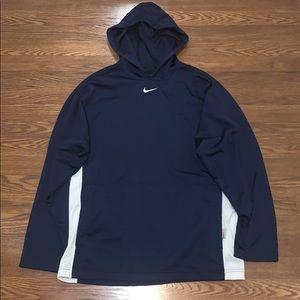 Nike Navy Hoodie Sweatshirt Men's Size Large